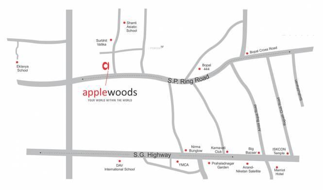 Applewoods Sorrel Location Plan