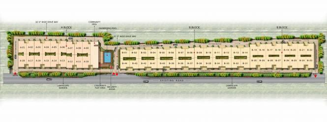 Gopalan Urban Woods Master Plan