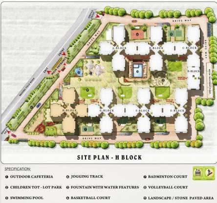 Gopalan Grandeur Master Plan