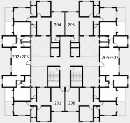 Kolte Patil IVY Botanica Cluster Plan