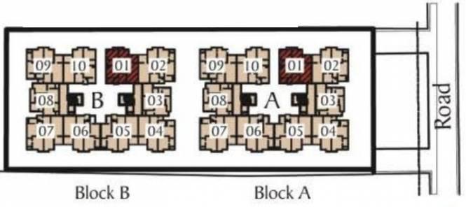 Unishire The Ledge Layout Plan