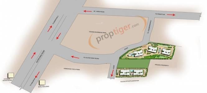 Prestige Silver Dale Location Plan