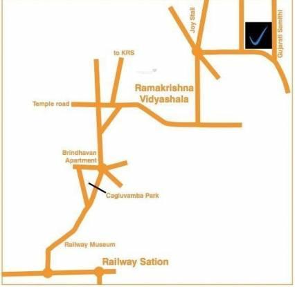 Vaishnavi Sarovar Location Plan