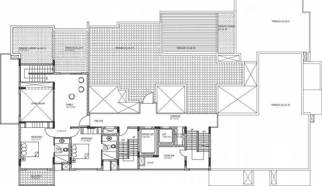Chartered Jardin Cluster Plan