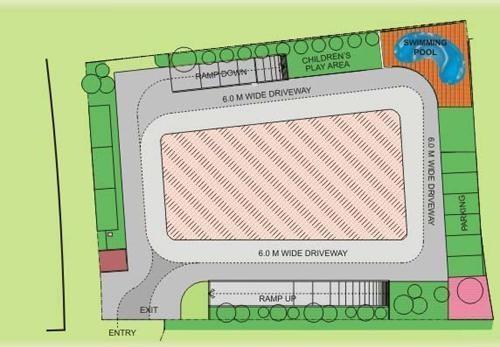 Chartered Jardin Site Plan