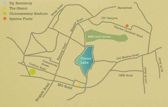 Spectra Floris Location Plan