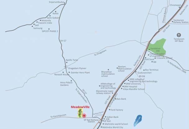 Sare Meadowville Location Plan