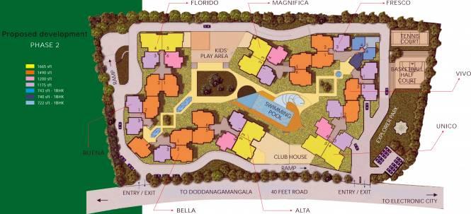 SJR Fiesta Homes Master Plan