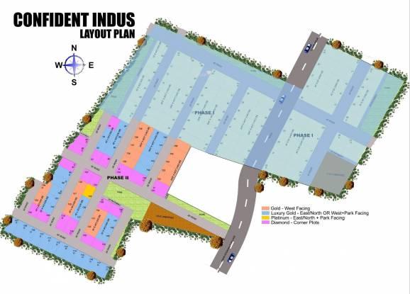 Confident Indus Layout Plan