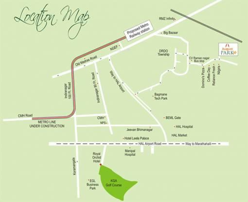 August Park Location Plan
