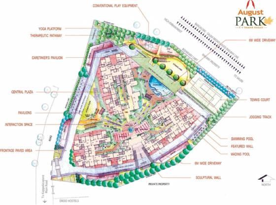 August Park Site Plan