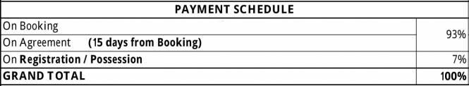 Shanders Alta Vista Payment Plan