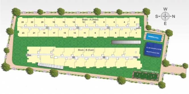 SLS Splendor Site Plan