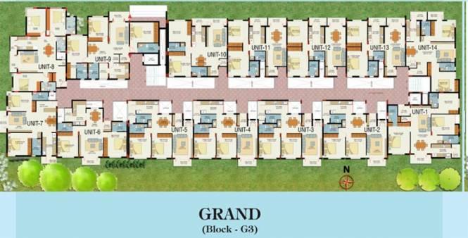 VKC Chourasia Manor Phase 2 Cluster Plan