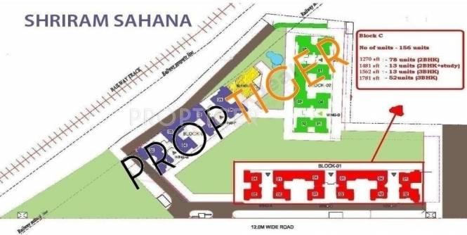 Shriram Sahaana Site Plan