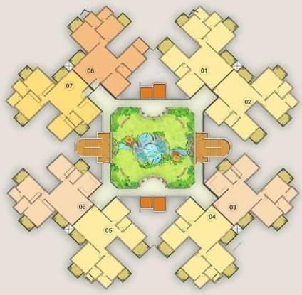 Golden Golden Blossom Cluster Plan
