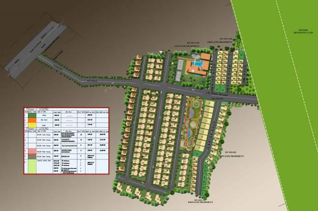 Golden Golden Homes Master Plan