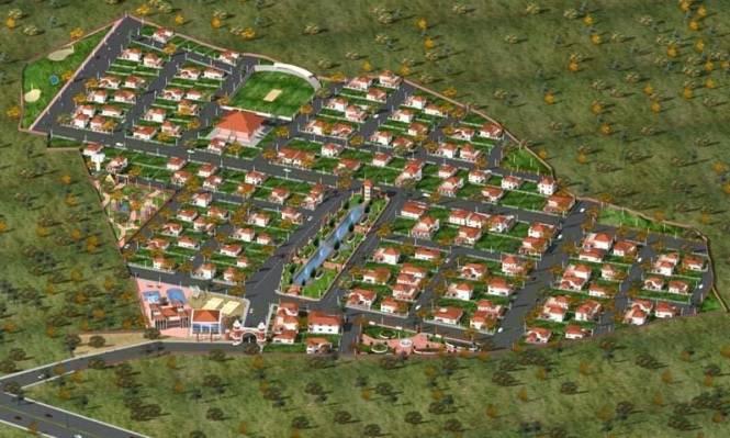 Vakil Garden City Site Plan