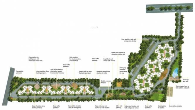 Nitesh Forest Hills Layout Plan