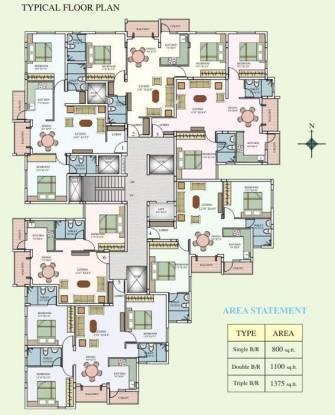 Aarya Aarya Orchid Cluster Plan