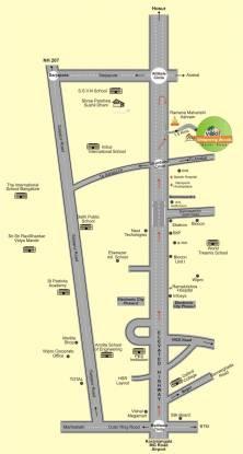Vakil Whispering Woods Plot Location Plan