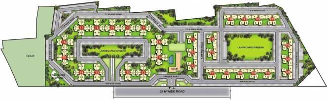 Unitech Gardens Layout Plan
