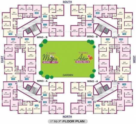 Baria Yashwant Nagar Cluster Plan