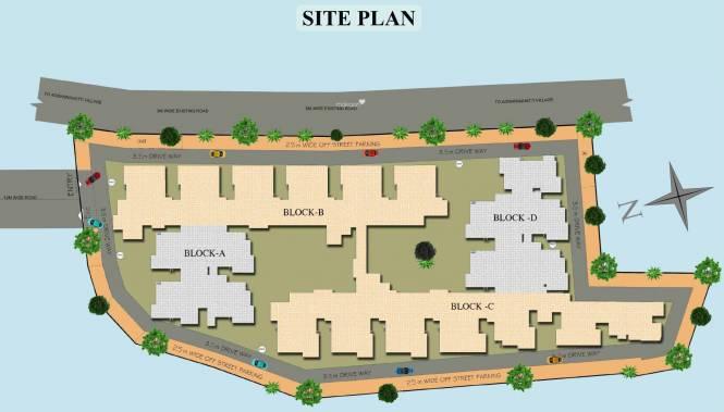 Vakil Whispering Woods Residences Site Plan