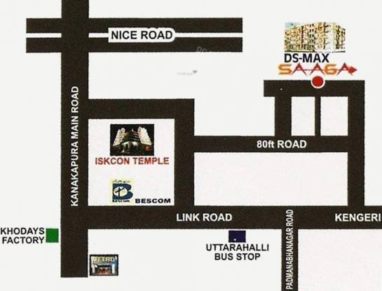 DS DSMAX SAAGA Location Plan