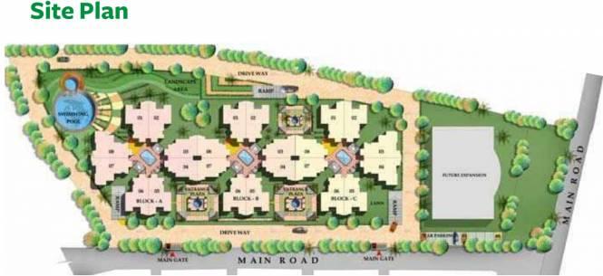 Gopalan Residency Site Plan