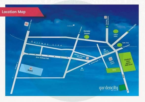 DLF Garden City Location Plan