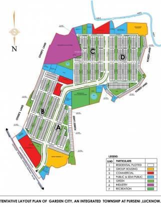DLF Garden City Site Plan
