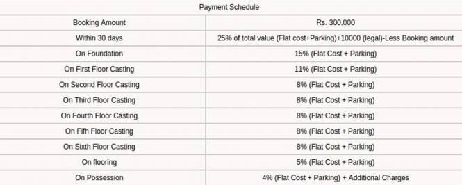 Team Bellagio Payment Plan