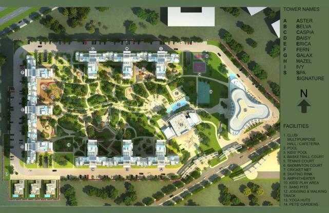 Bestech Park View Grand Spa Master Plan