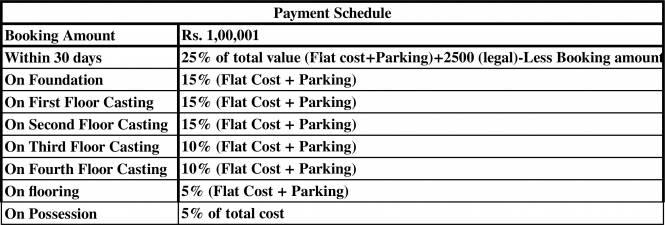 Team Sonartori Payment Plan