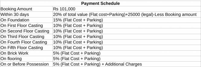 Team Wow Payment Plan
