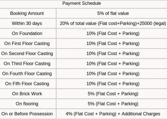 Team Deja Vu Payment Plan