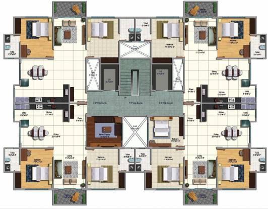 Srinivasa Sai Poorna Premier Cluster Plan