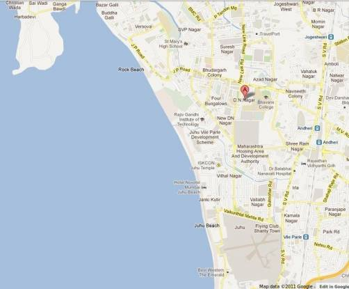 Kamla Sai Jaibhavani Location Plan