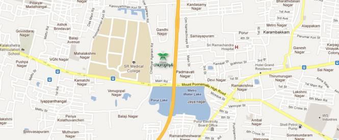 SPR Osian Chlorophyll Location Plan