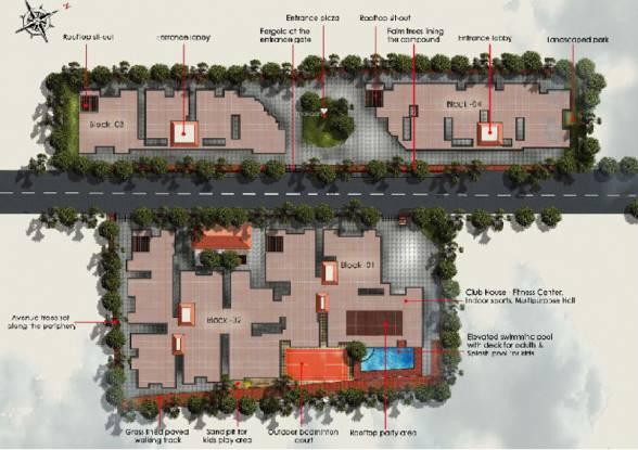 Sukritha Sunnyvale Site Plan