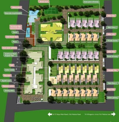 Sukritha Aaroha Villa Master Plan