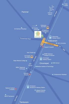 Olympia Grande Location Plan