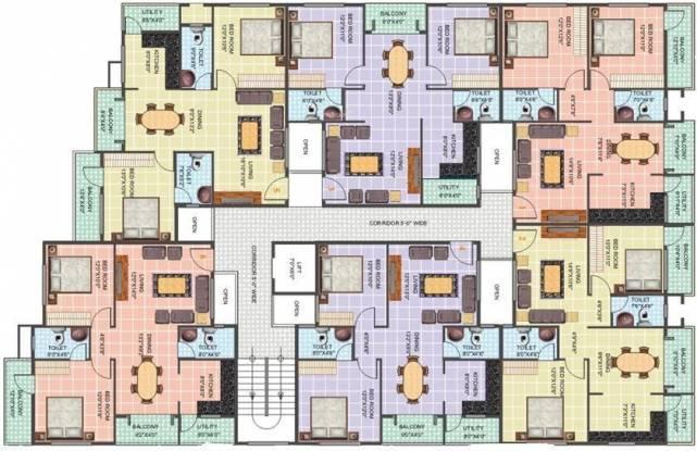 MDVR Prime Rose Cluster Plan