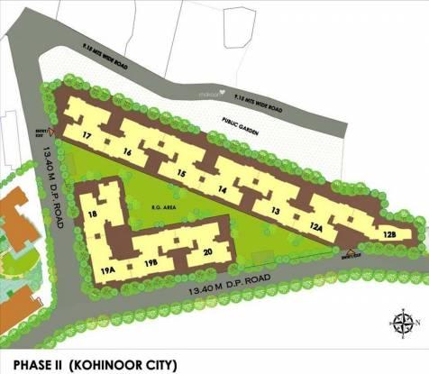 Kohinoor City Layout Plan