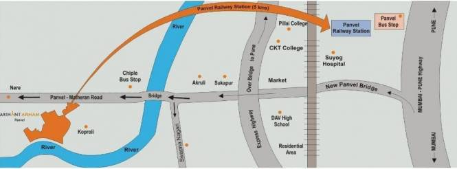 Arihant Arham Location Plan