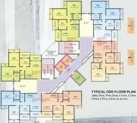 Arihant Amodini Cluster Plan
