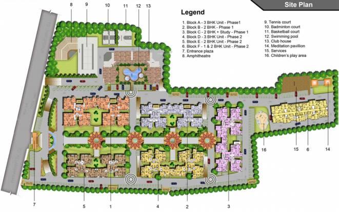 Marg Savithanjali Site Plan