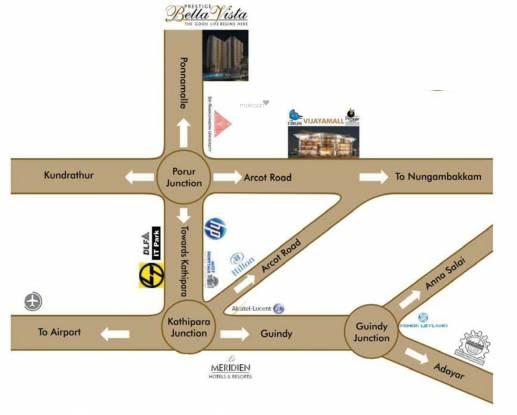 Prestige Bella Vista Location Plan