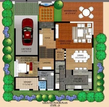 Indus Riviera Cluster Plan